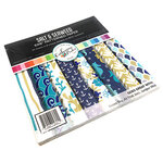 Catherine Pooler Designs - Anchors Away Collection - 6 x 6 Patterned Paper Pack - Salt and Seaweed