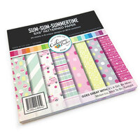 Catherine Pooler Designs - 6 x 6 Patterned Paper Pack - Sum-Sum-Summertime