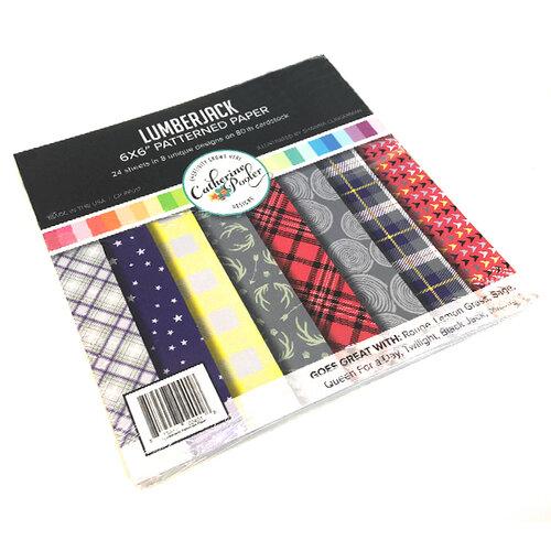 Catherine Pooler Designs - 6 x 6 Patterned Paper - Lumberjack