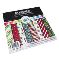 Catherine Pooler Designs - Jolly Holiday Collection - 6 x 6 Paper Pad - All Wrapped Up