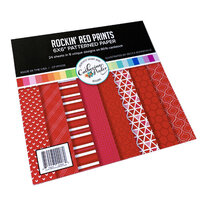 Catherine Pooler Designs - 6 x 6 Paper Pad - Rockin' Red Prints