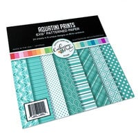 Catherine Pooler Designs - 6 x 6 Patterned Paper Pad - Aquatini