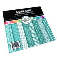 Catherine Pooler Designs - 6 x 6 Patterned Paper Pad - Aquatini
