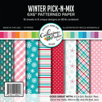 Catherine Pooler Designs - 6 x 6 Paper Pad - Winter Pick-N-Mix