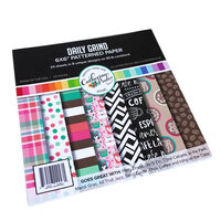 Catherine Pooler Designs - For My Crew Collection - 6 x 6 Paper Pad - Daily Grind