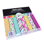 Catherine Pooler Designs - For My Crew Collection - 6 x 6 Paper Pad - Preppy Prints