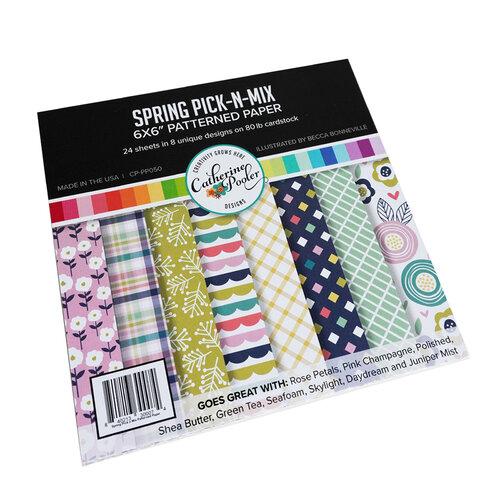 Catherine Pooler Designs - 6 x 6 Patterned Paper Pad - Spring Pick N Mix