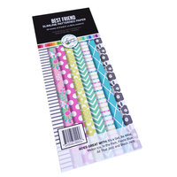 Catherine Pooler Designs - Slimline Patterned Paper Pad - Best Friend