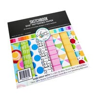 Catherine Pooler Designs - Creative Thinking Collection - 6 x 6 Patterned Paper Pad - Sketchbook