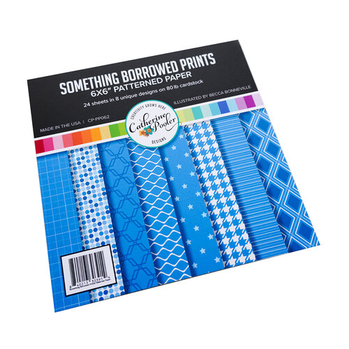 Catherine Pooler Designs - 6 x 6 Patterned Paper Pad - Something Borrowed