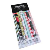 Catherine Pooler Designs - Christmas - Nostalgic Season Collection - Slimline Patterned Paper Pad - Grandma's Attic