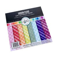Catherine Pooler Designs - Boho Fall Collection - 6 x 6 Patterned Paper Pad - Urban Plaid