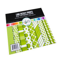 Catherine Pooler Designs - 6 x 6 Patterned Paper Pad - Lime Rickey Prints
