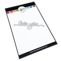 Catherine Pooler Designs - In The Kitchen Collection - Dies - Love You Word