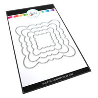 Catherine Pooler Designs - One Plus One Collection - Dies - Scallop Frame
