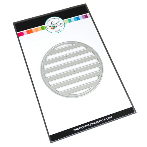 Catherine Pooler Designs - Fresh and Fruity Collection - Dies - Circle Stripe