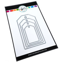 Catherine Pooler Designs - Blooming Essentials Collection - Dies - Layered Tag