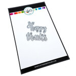 Catherine Pooler Designs - Blooming Essentials Collection - Dies - Happy Thanks Word