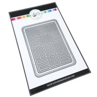 Catherine Pooler Designs - Dies - A-maze-ing Cover Plate