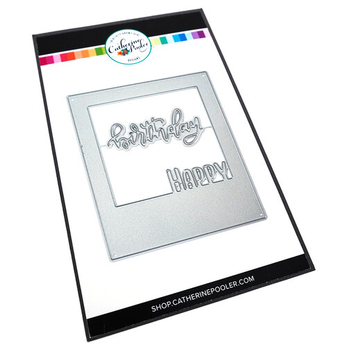Catherine Pooler Designs - Let's Party Collection - Dies - Instant Happy