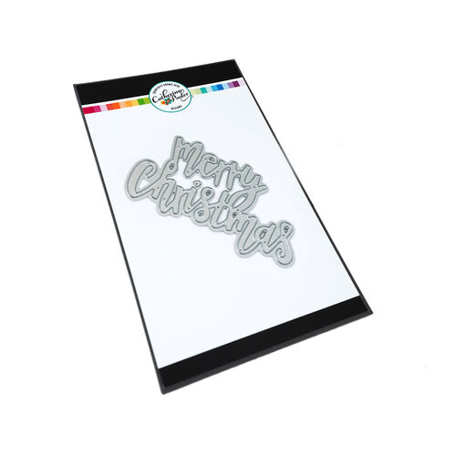 Catherine Pooler Designs - Jolly Holiday Collection - Dies - Merry Christmas