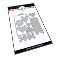 Catherine Pooler Designs - Love N Hearts Collection - Dies - Hearts-n-Tags