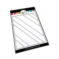 Catherine Pooler Designs - Creative Thinking Collection - Dies - Angled Stripes Cover Plate