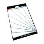 Catherine Pooler Designs - April Showers Bring Collection - Dies - Sunburst Stripes Cover Plate