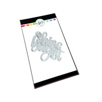 Catherine Pooler Designs - April Showers Bring Collection - Dies - Shine Bright Word