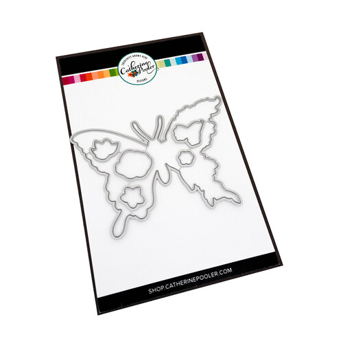 Catherine Pooler Designs - Creative Thinking Collection - Dies - Butterfly In Bloom