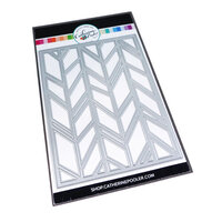 Catherine Pooler Designs - Dies - Chic Chevron Cover Plate