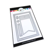 Catherine Pooler Designs - Notecard Essentials Collection - Dies - Notecard Frame and Tag