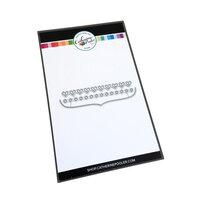 Catherine Pooler Designs - Notecard Essentials Collection - Dies - Notecard Trims