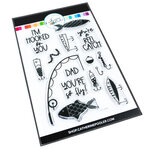 Catherine Pooler Designs - Father's Day Collection - Clear Photopolymer Stamps - Fly Daddy