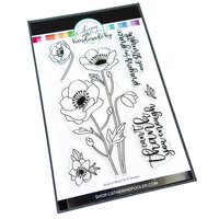Catherine Pooler Designs - Garden Collection - Clear Photopolymer Stamps - Grace in Bloom