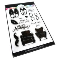 Catherine Pooler Designs - One Plus One Collection - Clear Photopolymer Stamps - His and Hers