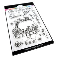 Catherine Pooler Designs - One Plus One Collection - Clear Photopolymer Stamps - This Calls For Cake