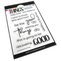 Catherine Pooler Designs - One Plus One Collection - Clear Photopolymer Stamps - Bee the Good