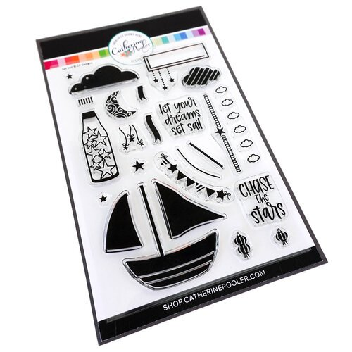 Catherine Pooler Designs - Clear Photopolymer Stamps - Set Sail