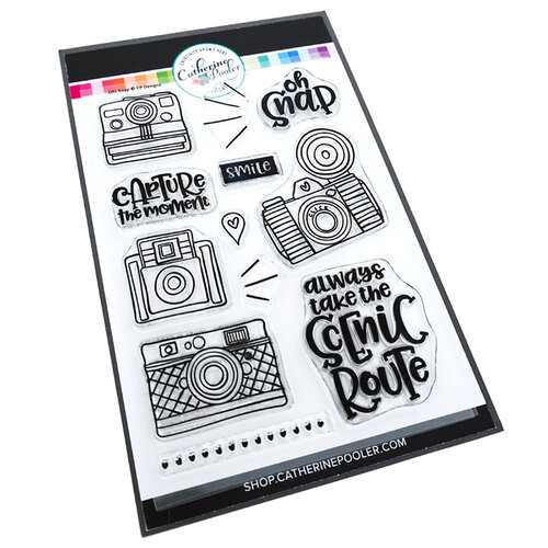 Catherine Pooler Designs - Let's Party Collection - Clear Photopolymer Stamps - Oh Snap