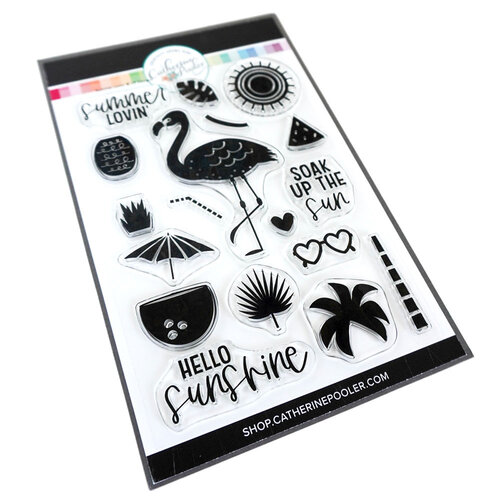 Catherine Pooler Designs - Clear Photopolymer Stamps - Summer Lovin'