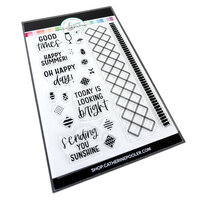 Catherine Pooler Designs - Clear Photopolymer Stamps - Good Times Bits and Borders