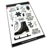 Catherine Pooler Designs - Clear Photopolymer Stamps - Let's Go Skating