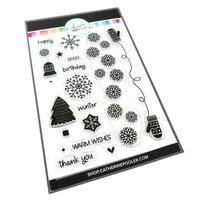Catherine Pooler Designs - Clear Photopolymer Stamps - Winter Wishes
