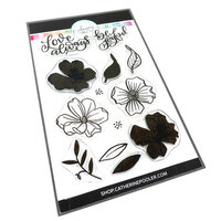 Catherine Pooler Designs - Clear Photopolymer Stamps - Dogwoods in Bloom