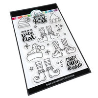 Catherine Pooler Designs - Jolly Holiday Collection - Clear Photopolymer Stamps - Nice List