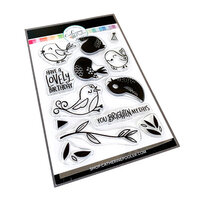 Catherine Pooler Designs - Clear Photopolymer Stamps - Lovely Birdies