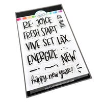 Catherine Pooler Designs - Beautiful New Year Collection - Clear Photopolymer Stamps - RE Sentiments