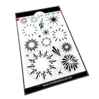 Catherine Pooler Designs - Beautiful New Year Collection - Clear Photopolymer Stamps - Sparkle and Pop