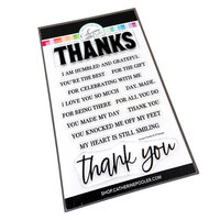 Catherine Pooler Designs - Beautiful New Year Collection - Clear Photopolymer Stamps - Sincere Thanks